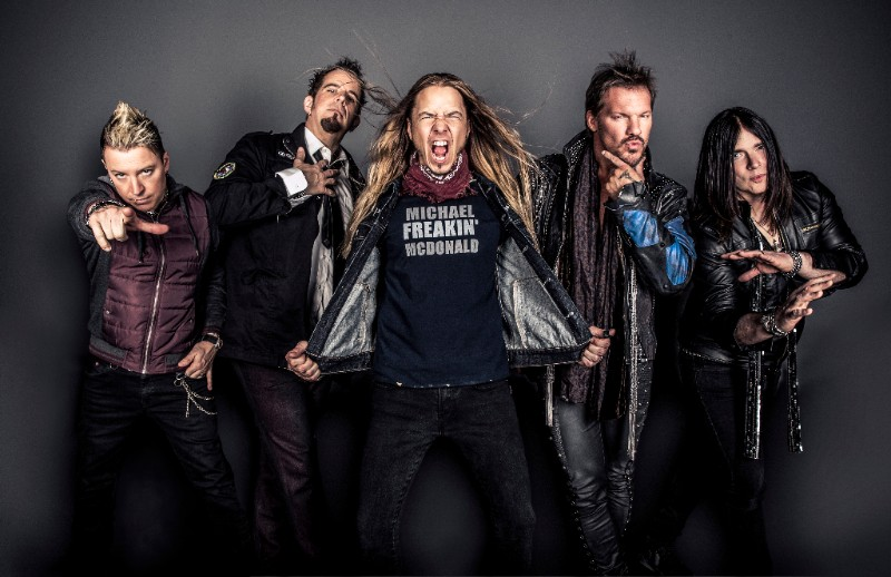 "FOZZY Prepares To Embark On ""Judas Rising"" Tour In The U.S."