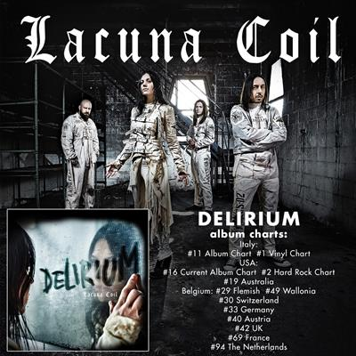 """LACUNA COIL Join Epica On The """"Ultimate Principal"""" North American Tour"""
