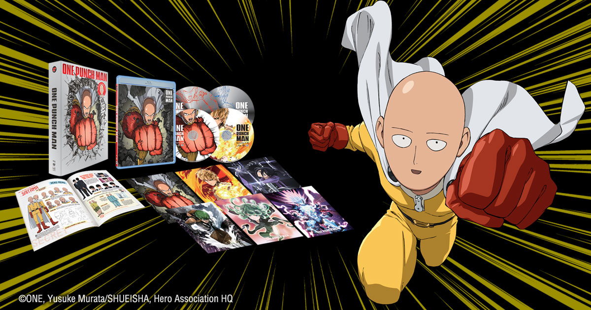 One Punch Man Season 1 Limited Edition Box Set Review