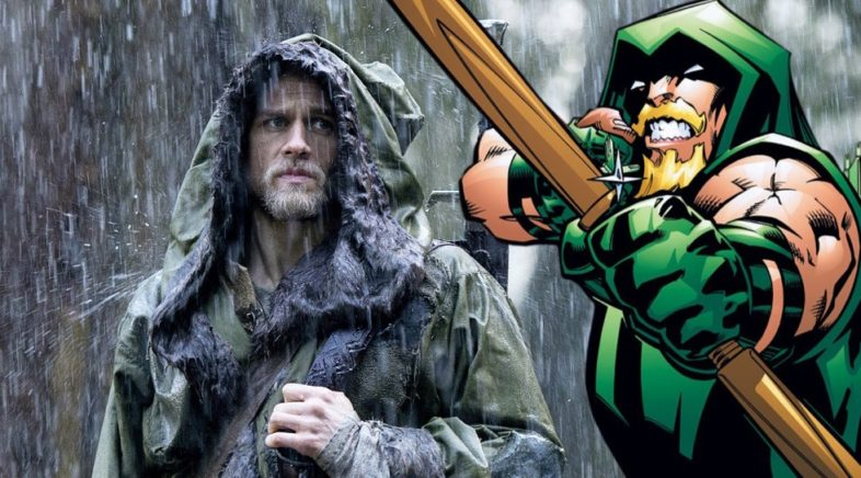 Charlie Hunnam Open To Playing Green Arrow