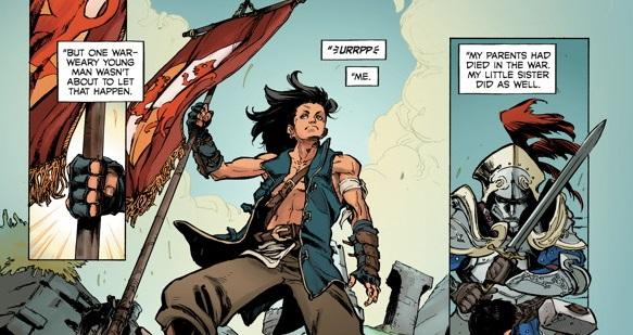 Dragon Age: Knight Errant #1 Review