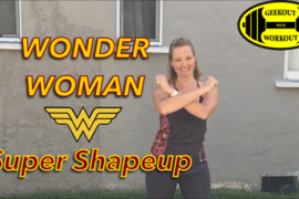 Wonder Woman Super Shapeup Workout