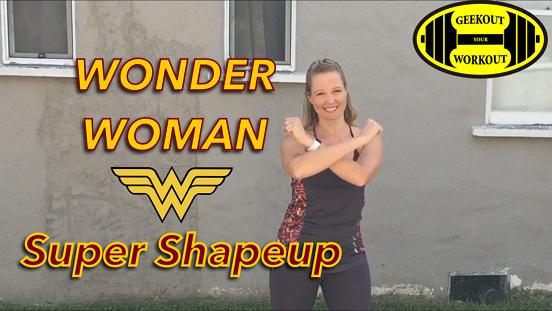 Wonder Woman Super Shapeup Workout