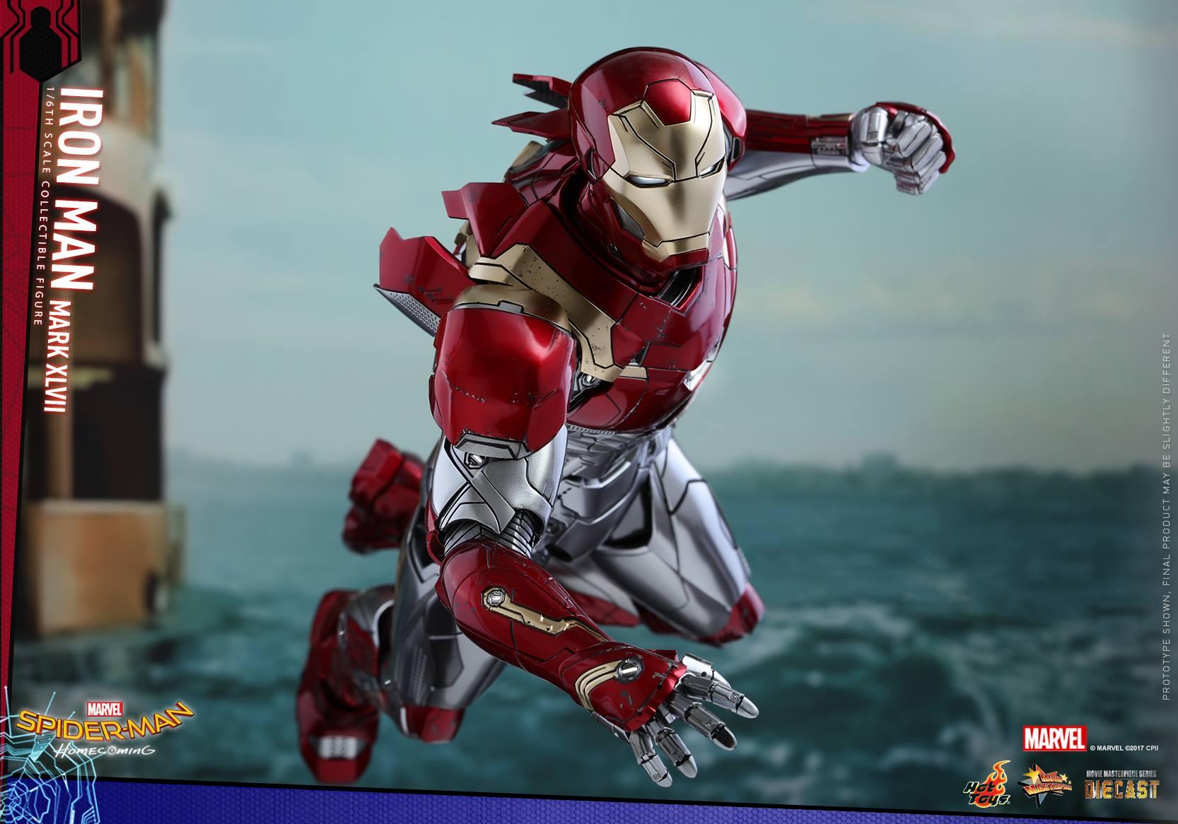 Hot Toys Spider-Man Homecoming Iron Man