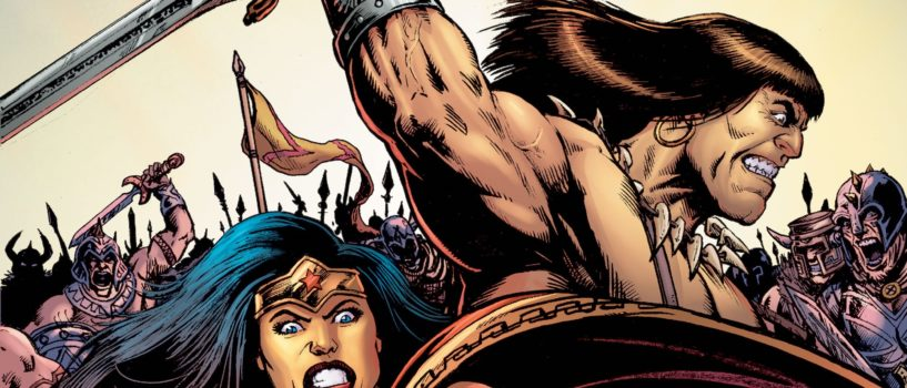 Wonder Woman to Team with Conan in Epic Crossover Miniseries