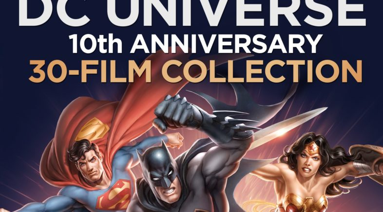 Celebrate 10 Years of DC Entertainment Animated Features in a New Collection