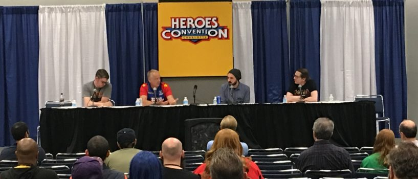 Heroes-Con 2017: Horror Writers Panel