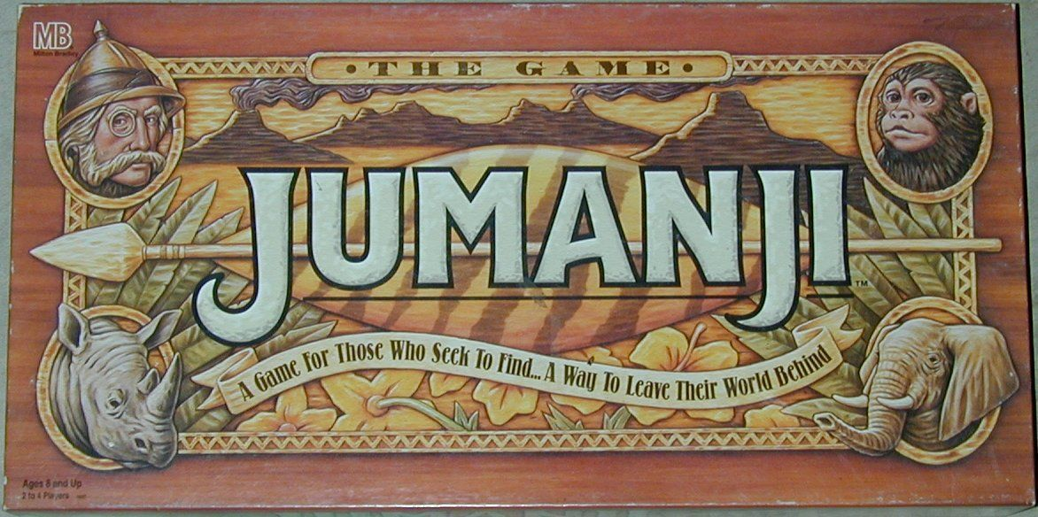 Rapid Reflections: Jumanji Trailer