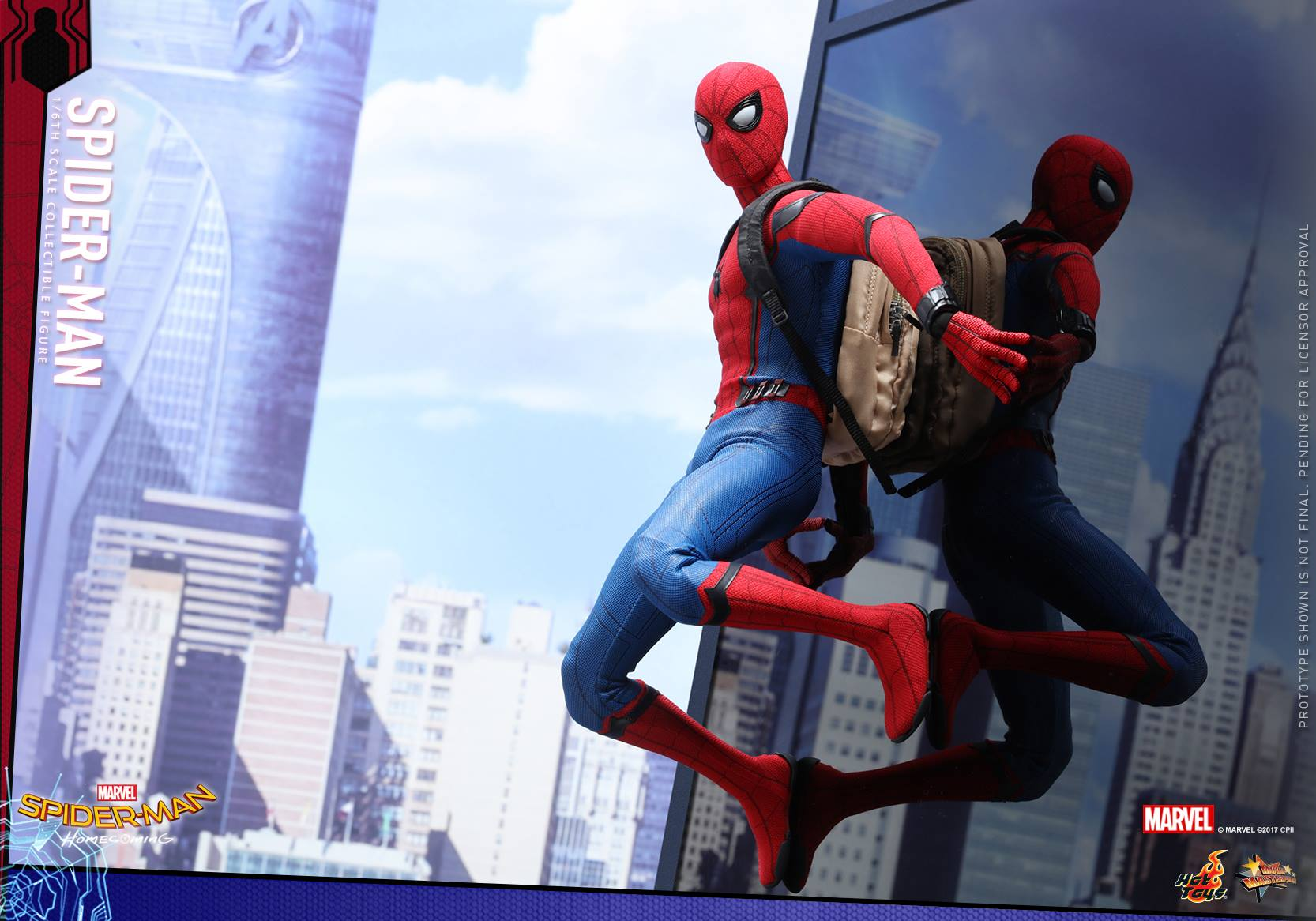 Hot Toys Reveals Spider-man Homecoming Spider-Man (Updated)
