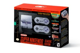 Nintendo Officially Announces the SNES Classic