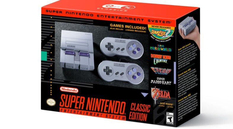 Nintendo Officially Announces the SNES Classic
