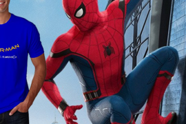 Win a Spider-Man Homecoming shirt Giveaway from FilmJackets