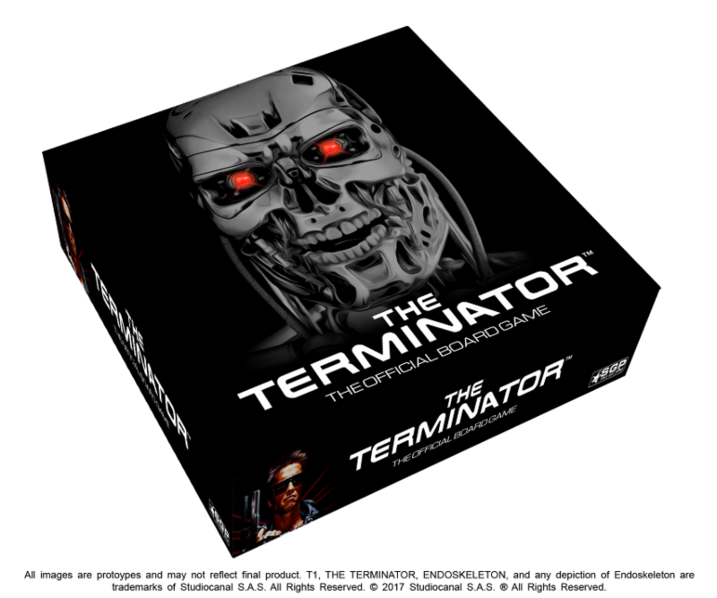 The Terminator™: The Official Board Game Now Available For Pre-Order