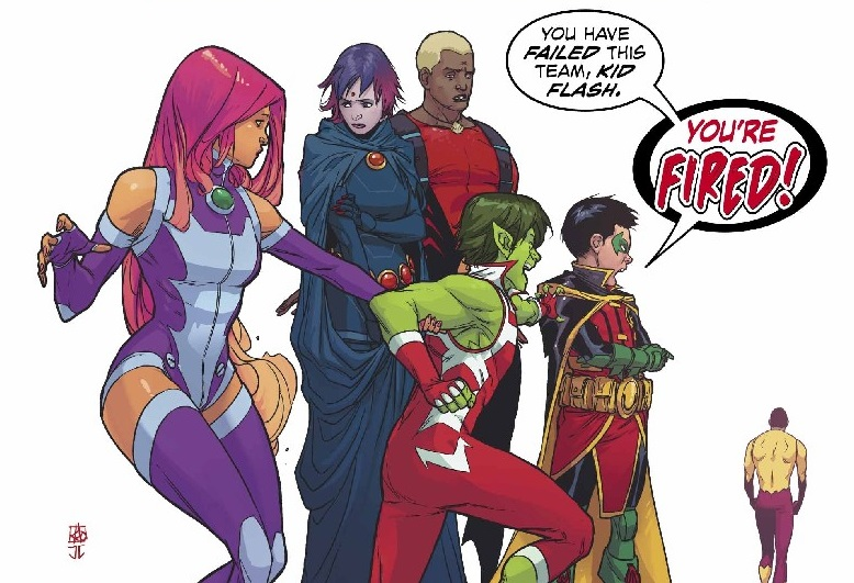Teen Titans #9 Review