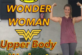Wonder Woman Upperbody Workout