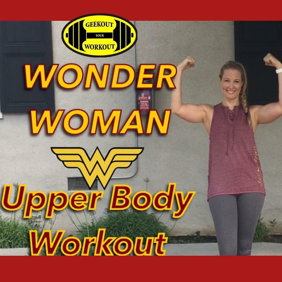 Wonder Woman Upperbody Workout