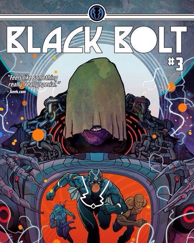 Black Bolt #3 Review