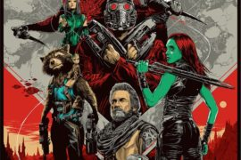 Act fast to score this Mondo Guardians of the Galaxy Vol 2 Print from Ken Taylor