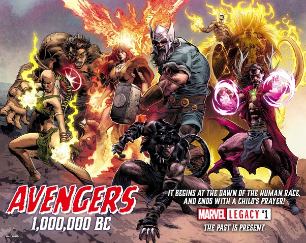 Video Breakdown of Marvel's Avengers 1,000,000 BC