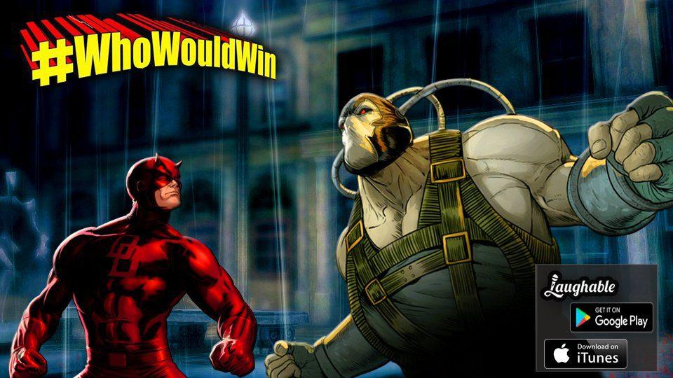 #WhoWouldWin: Bane Vs. Daredevil