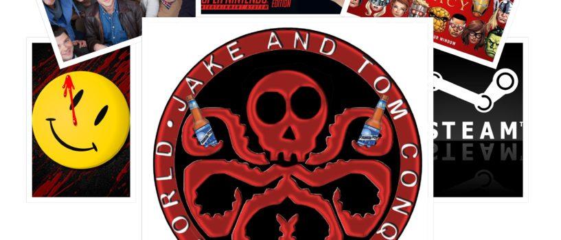 JAKE AND TOM CONQUER THE WORLD #55: DRUNKEN DORK NEWS – JULY, 2017