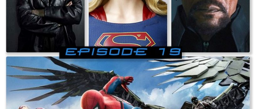 Super Powered Fancast #19: Superhero News Roundup