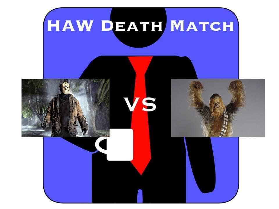 HardAtWork #18: Deathmatch! Jason VS Chewbacca