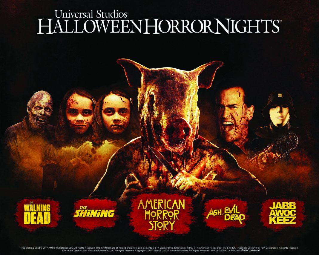 "Universal Studios Hollywood Terrifying New Slasher Film Maze ""Titans of Terror"""