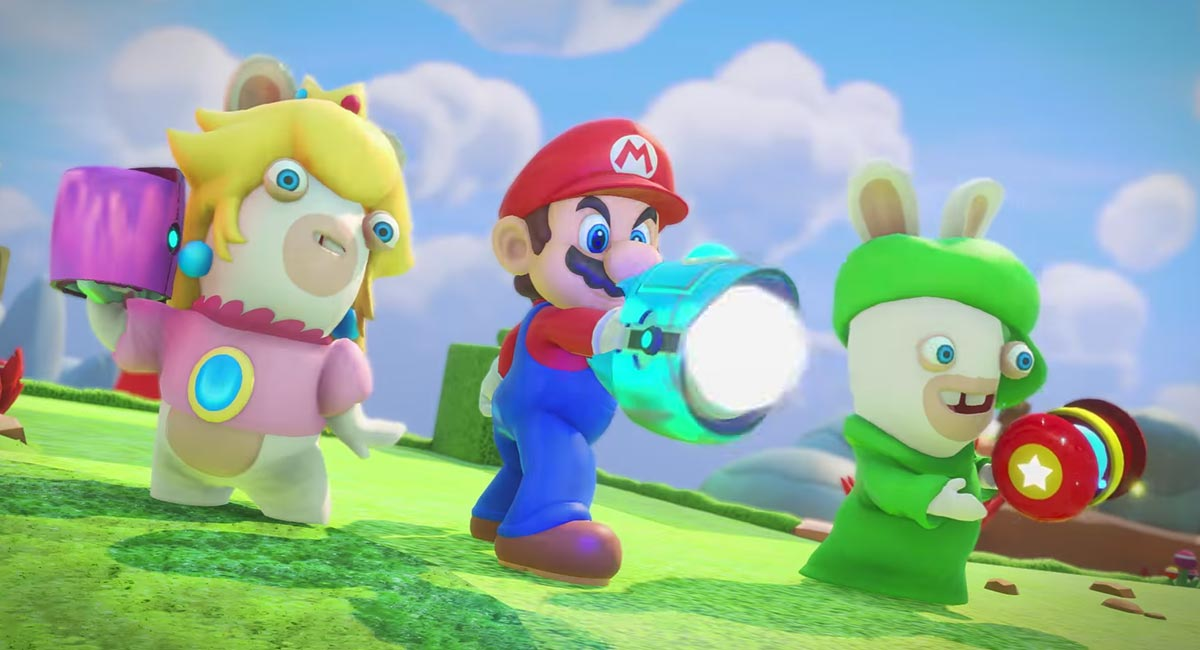 Mario + Rabbids Kingdom Battle gets a new COMBAT TRAILER