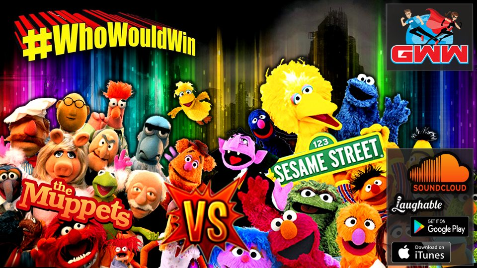 #WhoWouldWin: The Muppets vs Sesame Street