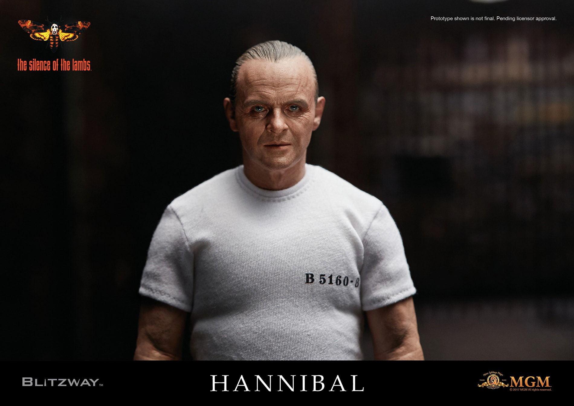 BLUEFIN OPENS PRE-ORDERS FOR REALISTIC 1/6 SCALE HANNIBAL LECTER