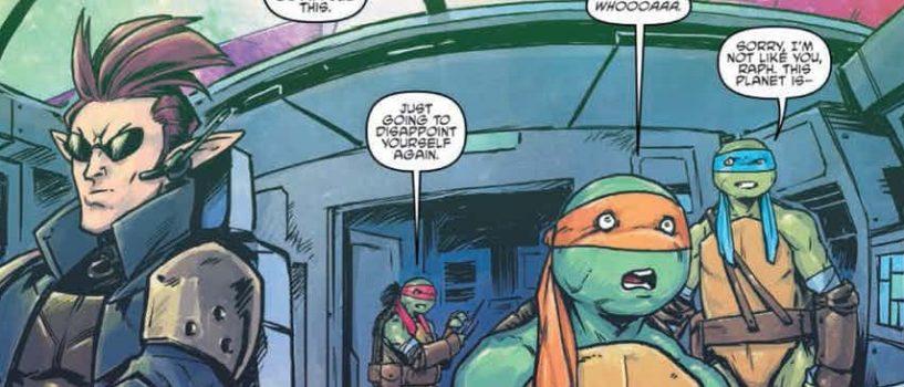 Teenage Mutant Ninja Turtles: Dimension X #2