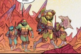 Teenage Mutant Ninja Turtles Dimension X #1 REVIEW