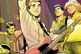 Archie and the gang meet the band CHVRCHES in upcoming issues of The Archies
