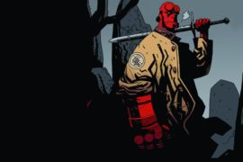 Take a look at David Harbour as Hellboy