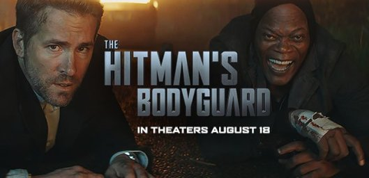 The Hitman's Bodyguard on Blu-Ray/DVD in time for the Holidays