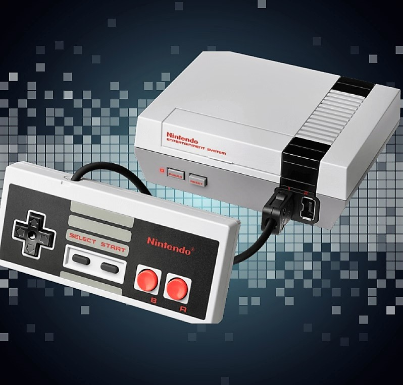 Nintendo Brings Back The NES Classic