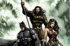 Various DC Comics Titles Get Justice League Movie Inspired Covers