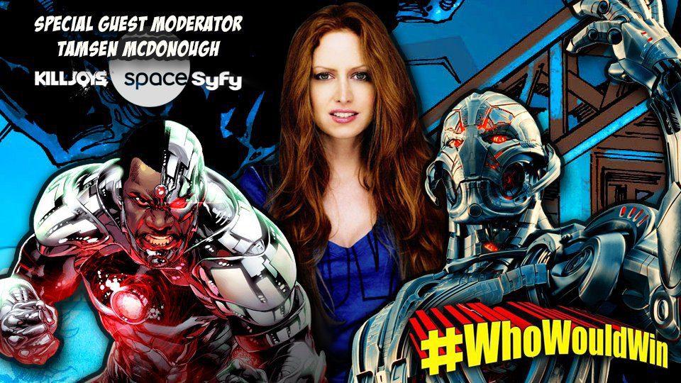 #WhoWouldWin: Cyborg Vs. Ultron