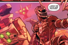 Justice League/Power Rangers #6 Review