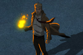 First Trailer for Constantine Animated Series on CW Seed