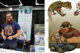 Artist Lucas Elliott on Creativity, Comics, and the Alaskan Wilderness