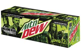 "AMC AND MOUNTAIN DEW ANNOUNCE ""THE WALKING DEAD""  PARTNERSHIP WORTHY OF A ZOMBIE APOCALYPSE"
