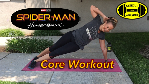 Spider-man Core Workout Video