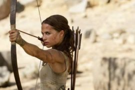 Alicia Vikander Stars in the new Trailer for Tomb Raider