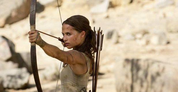 Alicia Vikander Stars in the new Trailer for Tomb Raider