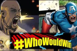 #WhoWouldWin: Captain America vs. Luke Cage