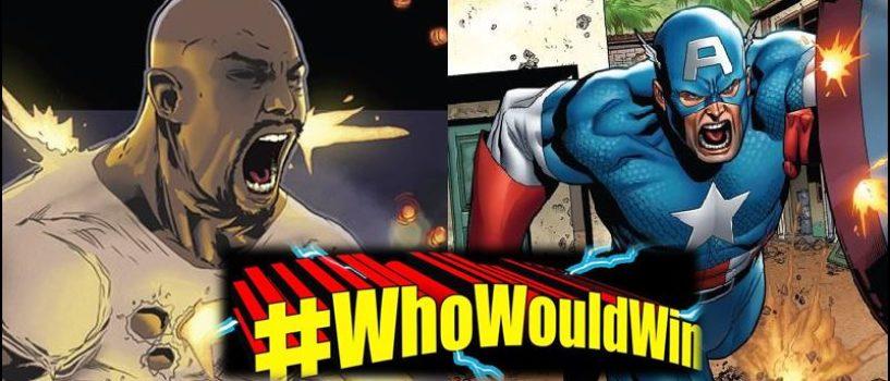 #WhoWouldWin: Captain America vs. Luke Cage
