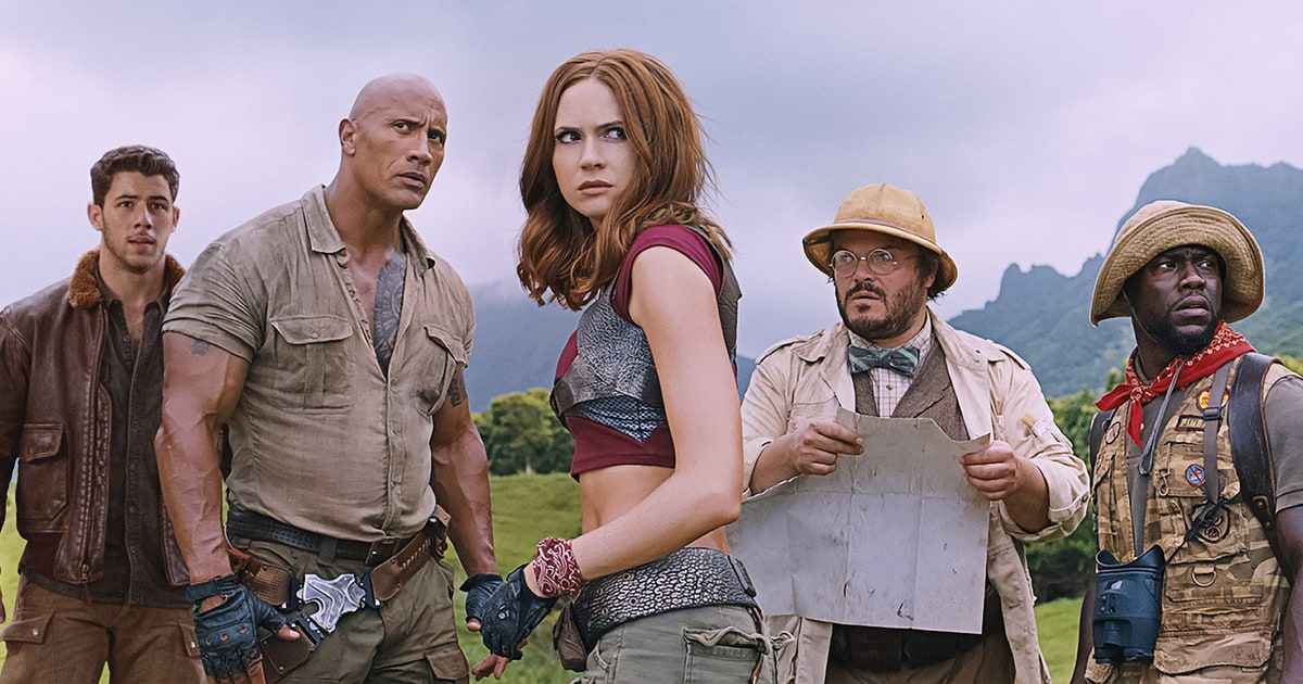 2nd Trailer for Jumanji: Welcome to the Jungle Showcases the Video Game Elements of the Movie