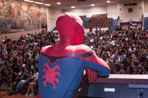 The Cast of Spider-Man: Homecoming Goes to Local High School with New PSA